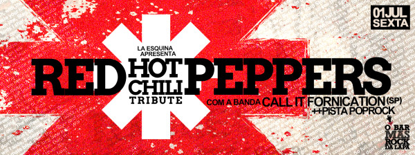 sexta - Red Hot Chili Peppers Tribute